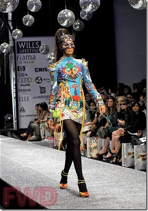 Manish Arora Fall 2008 Fashion Show, New Delhi